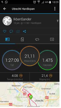 rennen 13 januari 2018