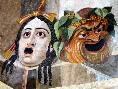 tragisch en komisch masker